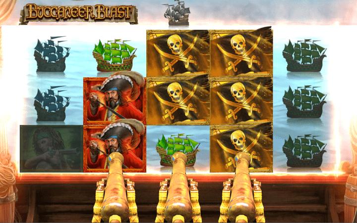 Buccaneer Blast, Playtech, Online Casino Bonus