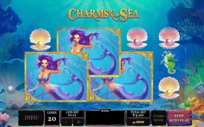 Charms of the Sea, Playtech, Online Casino Bonus