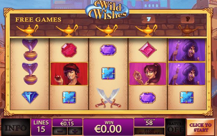 Wild Wishes, Playtech, Online Casino Bonus