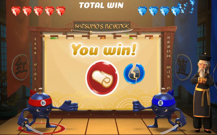 Satsumos Revenge, Playtech, Online Casino Bonus