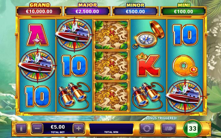Adventure Trail, Playtech, Online Casino Bonus