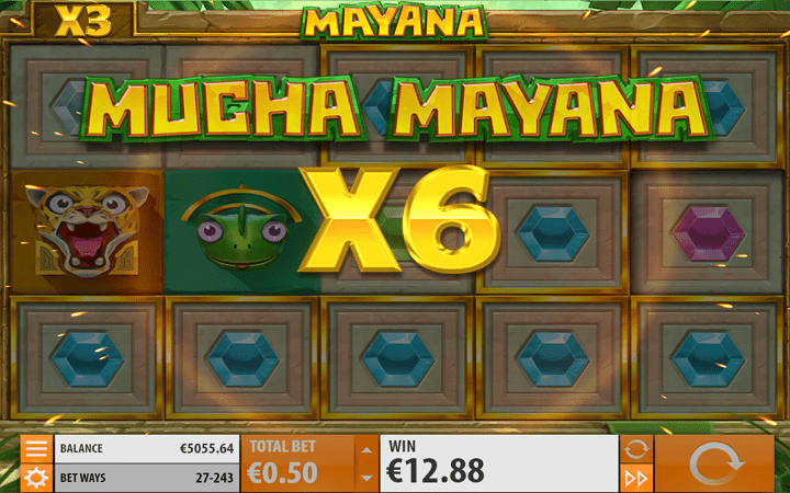 Mayana, Quickspin, Playtech, Online Casino Bonus