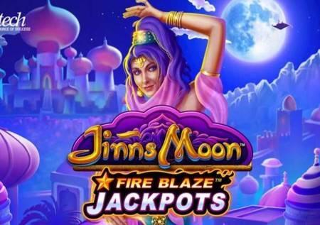 Fireblaze Jinns Moon – čarobna lampa u novom video slotu