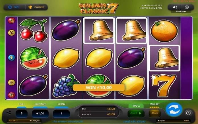 Online Casino Bonus, Zlatno Zvono, Golden 7 Classic