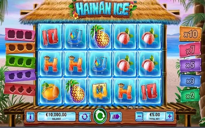 Hainan Ice, Playtech, Online Casino Bonus