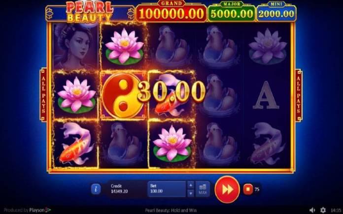 Online Casino Bonus, Džoker, Pearl Beauty: Hold and Win