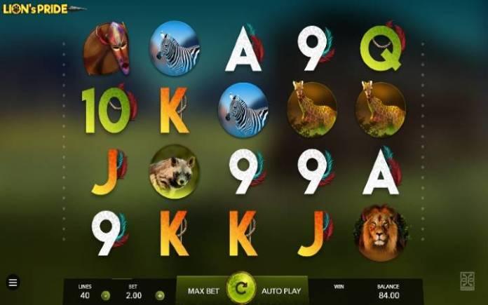 Lions Pride, Online Casino Bonus, Mascot
