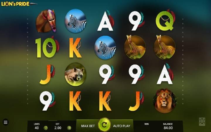 Lions Pride, Online Casino Bonus, Game Art
