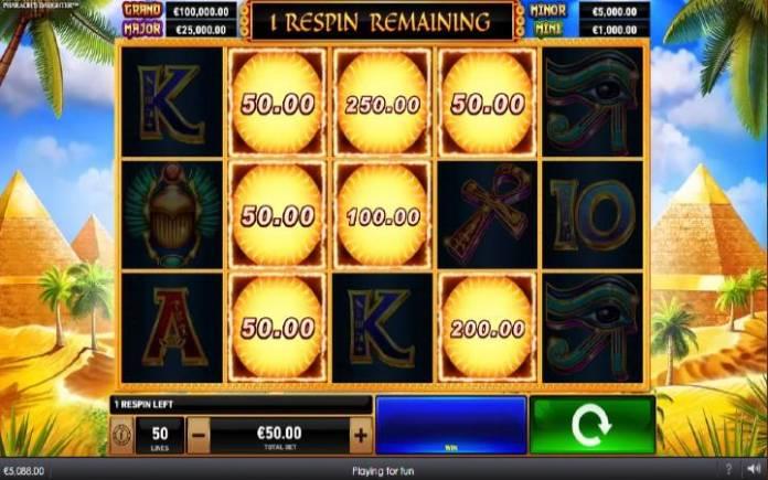 Bonus Simbol, Online Casino Bonus, Playtech, Fireblaze: Pharaohs Daughter