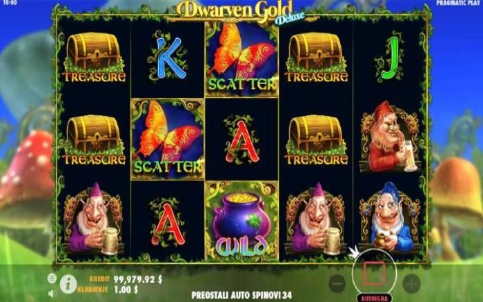 Dwarven Gold Deluxe, Online Casino Bonus, Kockanje