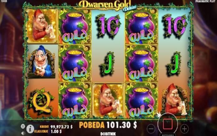 Dwarven Gold Deluxe, Online Casino Bonus
