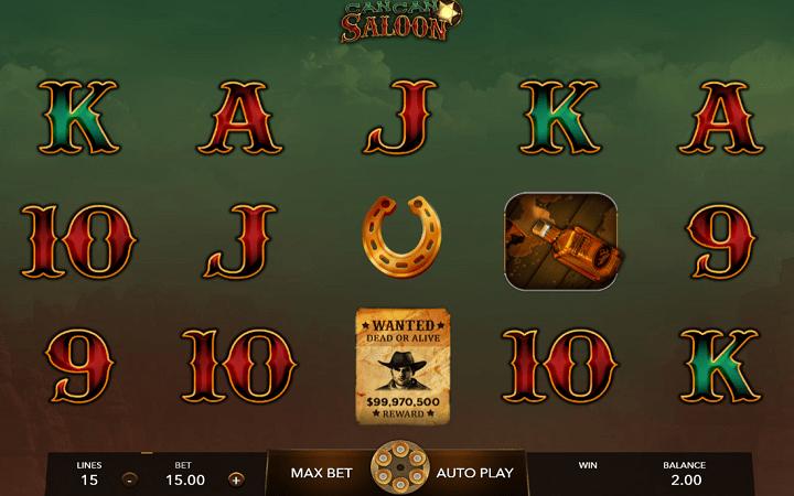 Cancan Saloon, Mascot, Online Casino Bonus