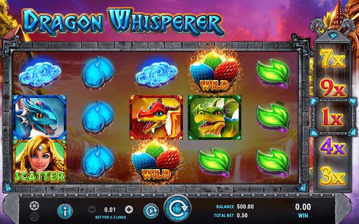 Dragon Whisperer, GameArt, Online Casino Bonus