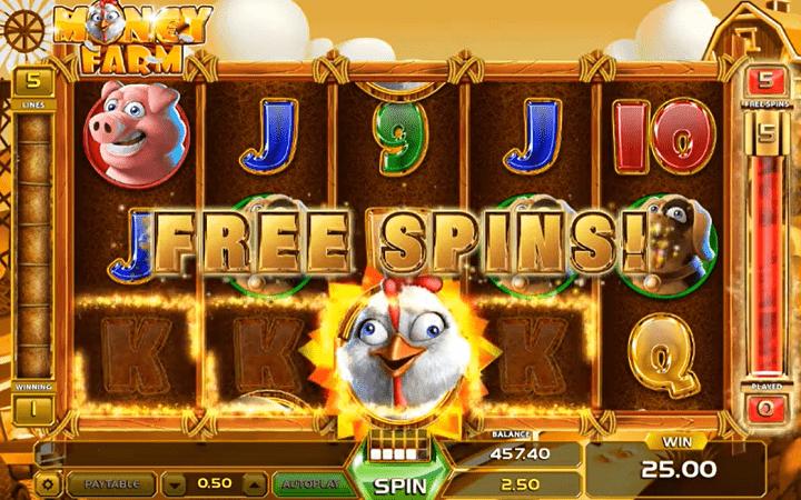 Money Farm, GameArt, Online Casino Bonus
