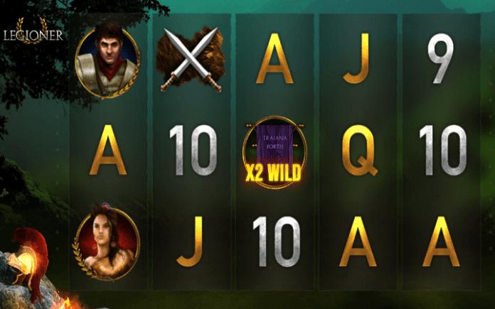 Legioner, Mascot, Online Casino Bonus