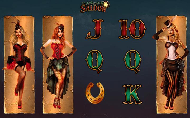 Cancan Saloon, GameArt, Online Casino Bonus