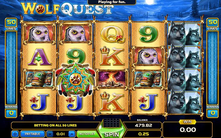 Wolf Quest, GameArt, Online Casino Bonus
