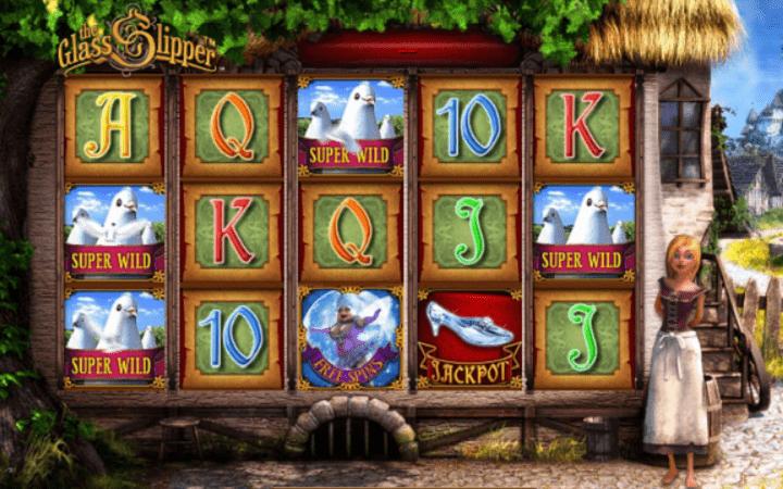 The Glass Slipper, Playtech, Online Casino Bonus