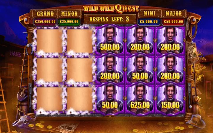 Wild Wild Quest, GameArt, Online Casino Bonus