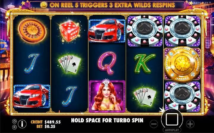Vegas Nights, Online Casino Bonus