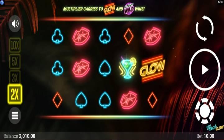 Miami Glow, Online Casino Bonus