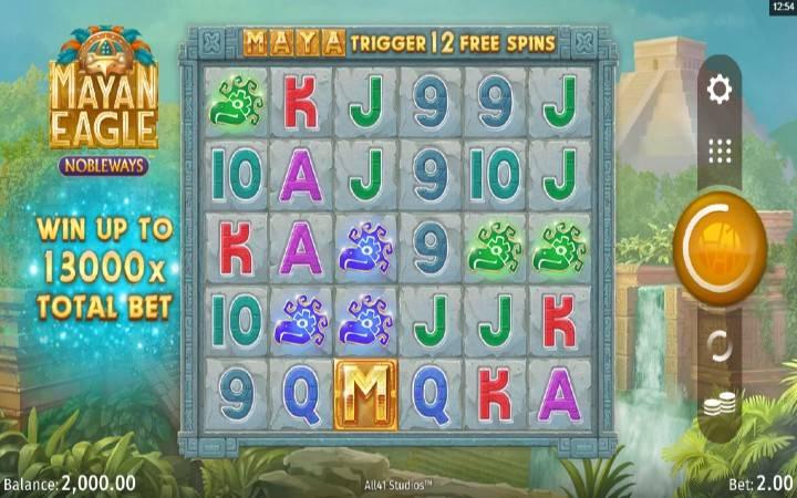 Mayan Eagle, Online Casino Bonus