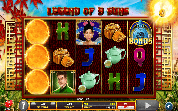 Legend of 9 Suns, Microgaming, Online Casino Bonus