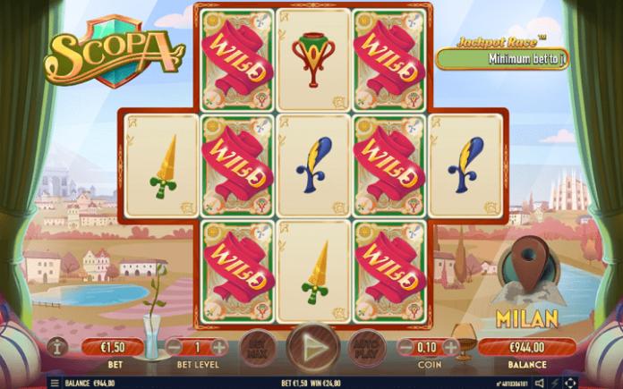 Scopa, Habanero, Online Casino Bonus