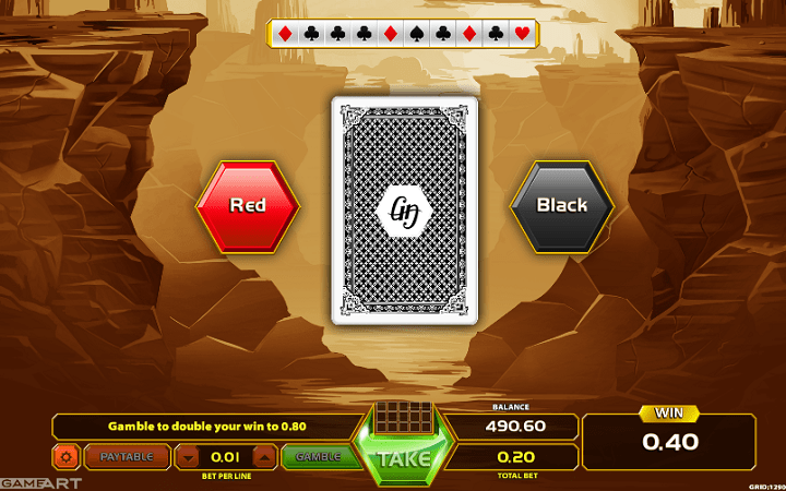 Texas Rangers Reward, GameArt, Online Casino Bonus