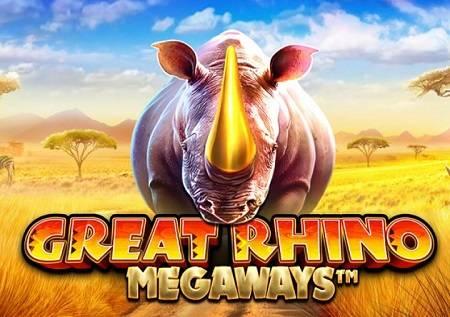 Great Rhino Megaways – nastavak slot serijala!