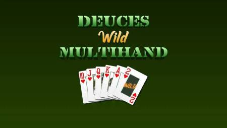 Video poker Deuces Wild Multihand – Strahinja prvi milioner!
