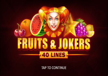 Fruits and Jokers 40 lines – voćna avantura