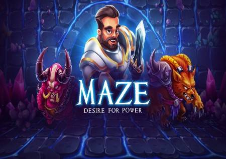 Maze Desire for Power – online kazino slot!