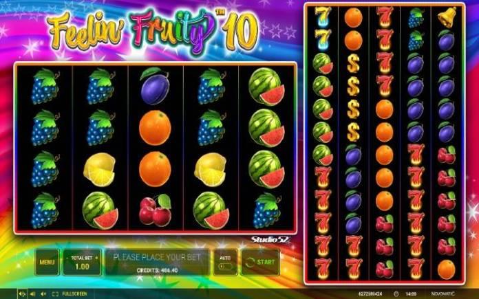 Feelin Fruity 10-osnovna igra-online casino bonus