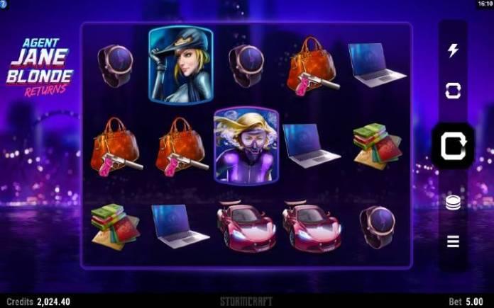 Agent Jane Blond Returns-online casino bonus-osnovna igra