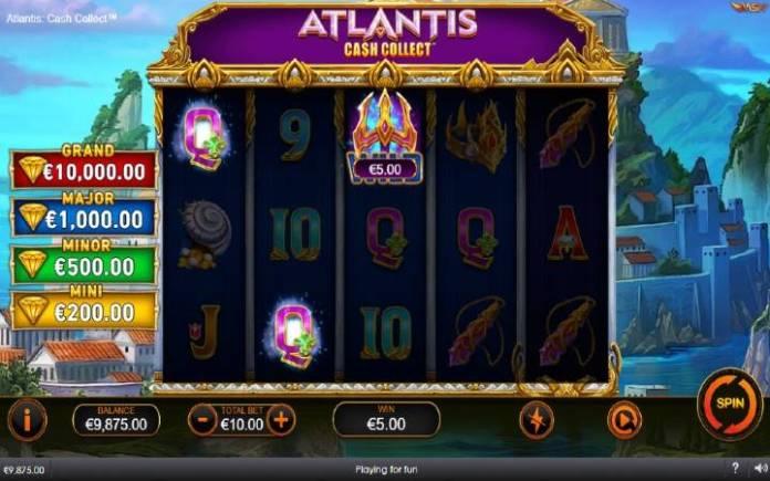 džoker-dobitna kombinacija sa džokerom-Atlantis Cash Collect