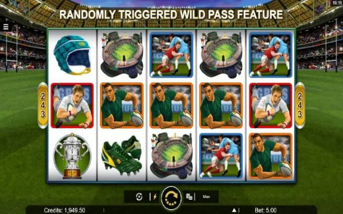Rugby Star-osnovna igra-online casino bonus