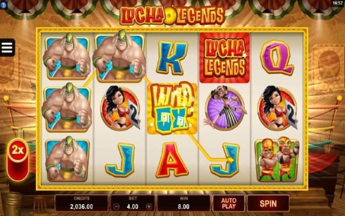 Power Mode-lucha legends-online casino bonus-microgaming