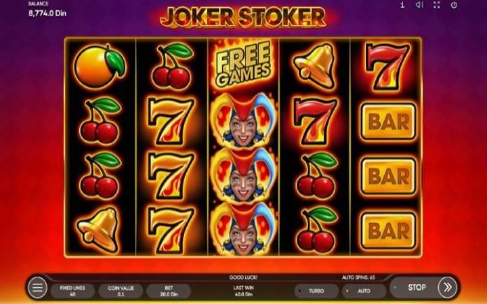 Joker Stoker-Endorphina-osnovna igra-online casino bonus