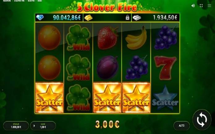 Scatterzlatna zvezda-5 clover fire-fazi-online casino bonus