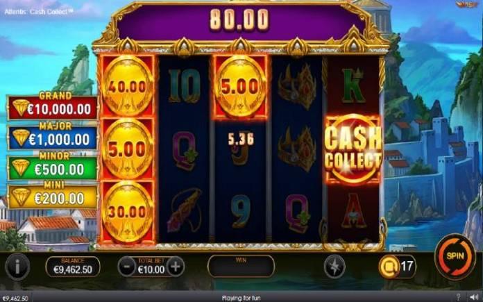 Cash Collect-Atlantis Cash Collect-online casino bonus