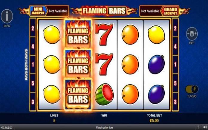 Flaming Respin Bonus-Flaming Bars- online casino bonus