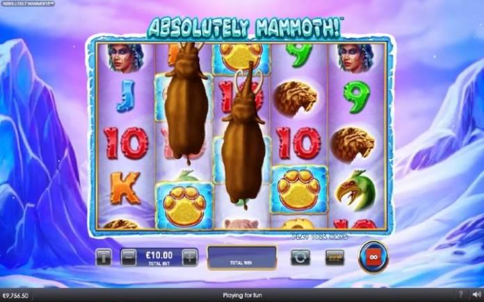 Stapmedo mamuta-bonus igra-absoletely mammoth