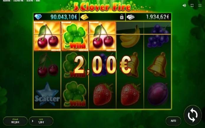 Džoker-dobitna kombinacija-5 clover fire-fazi