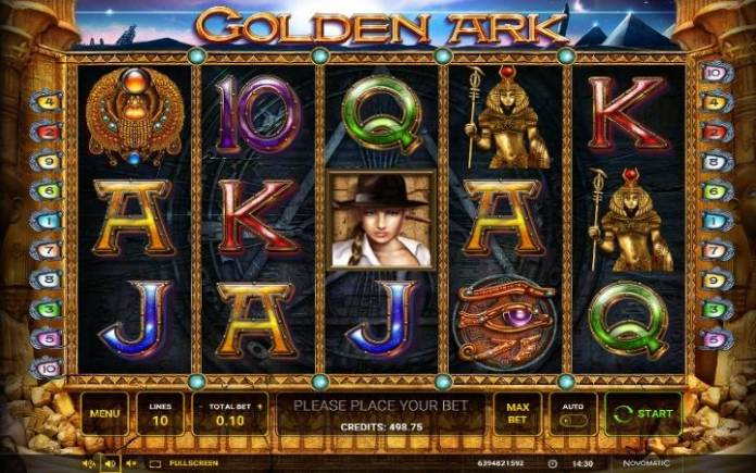 Golden Ark-online casino bonus-novomatic-osnovna igra