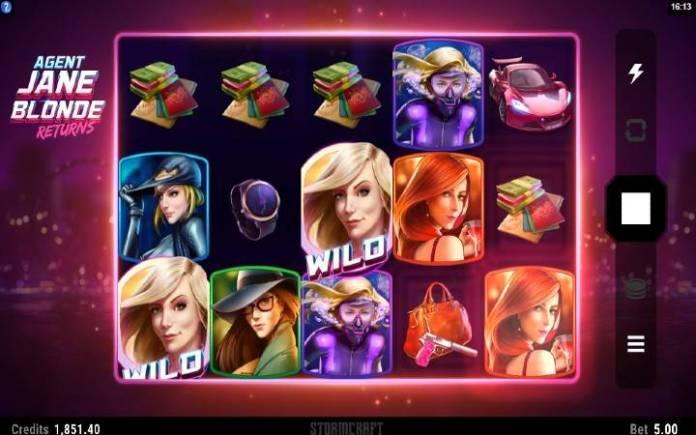 Respin Bonus-Agent Jane Blond Returns-online casino bonus