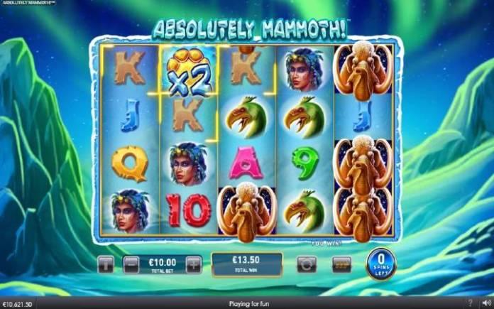 Besplatni spinovi-džokeri sa množiocem-Absolutely Mammoth