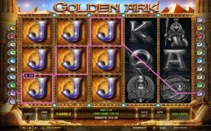 Besplatni spinovi-Golden Ark-online casino bonus