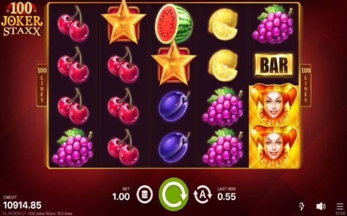 100 joker staxx-zlatna zvezda-online casino bonus-