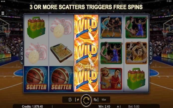 Basketball Star-online casino bonus-složeni džokeri-dobitna kombinacija